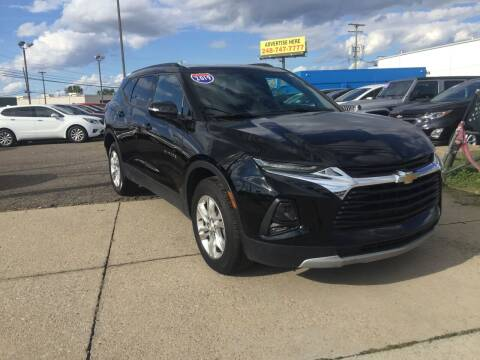 2019 Chevrolet Blazer for sale at M-97 Auto Dealer in Roseville MI