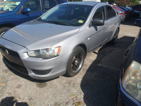 2009 Mitsubishi Lancer for sale at Charles Baker Jeep Honda in Norfolk VA