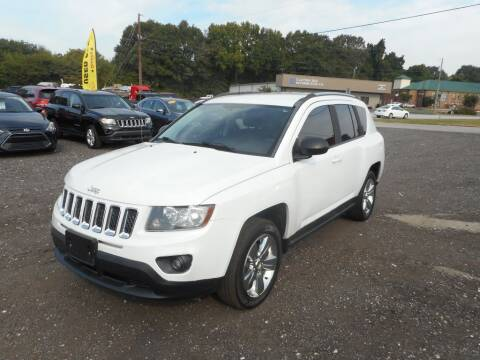 2016 Jeep Compass for sale at Auto Center Elite Vehicles LLC in Spartanburg SC