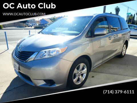 2014 Toyota Sienna for sale at OC Auto Club in Midway City CA