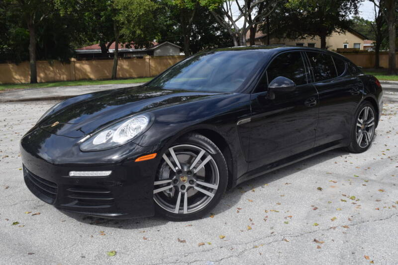 2014 Porsche Panamera for sale at Easy Deal Auto Brokers in Hollywood FL