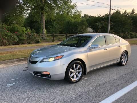 2012 Acura TL for sale at Judex Motors in Loganville GA