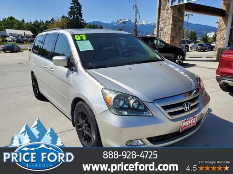 2007 Honda Odyssey for sale at Price Ford Lincoln in Port Angeles WA