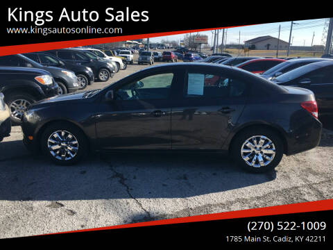2014 Chevrolet Cruze for sale at Kings Auto Sales in Cadiz KY