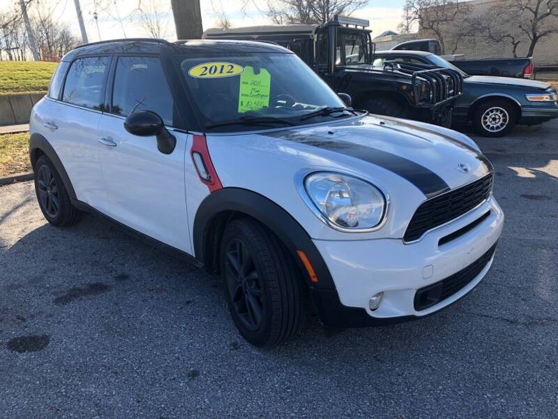 2012 MINI Cooper Countryman for sale at Auto Worlds LLC in Merriam KS