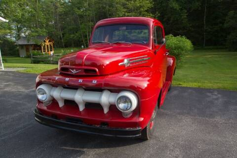 1952 Ford F-100 for sale at Essex Motorsport, LLC in Essex Junction VT