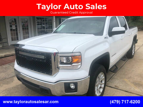 2015 GMC Sierra 1500 for sale at Taylor Auto Sales in Springdale AR