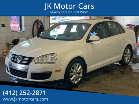 2010 Volkswagen Jetta for sale at JK Motor Cars in Pittsburgh PA