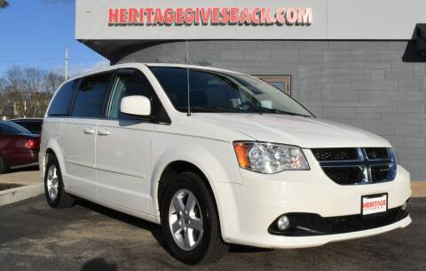 2012 Dodge Grand Caravan for sale at Heritage Automotive Sales in Columbus in Columbus IN