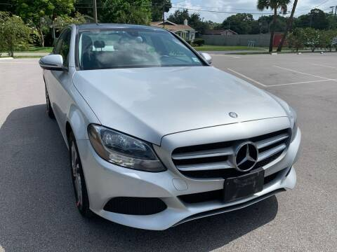 2017 Mercedes-Benz C-Class for sale at Consumer Auto Credit in Tampa FL