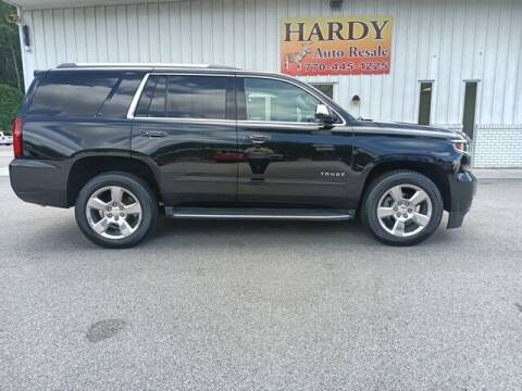 2017 Chevrolet Tahoe for sale at Hardy Auto Resales in Dallas GA
