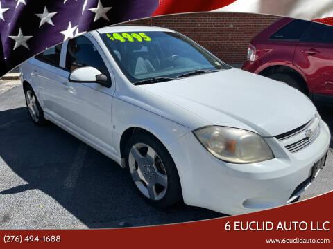 2008 Chevrolet Cobalt for sale at 6 Euclid Auto LLC in Bristol VA