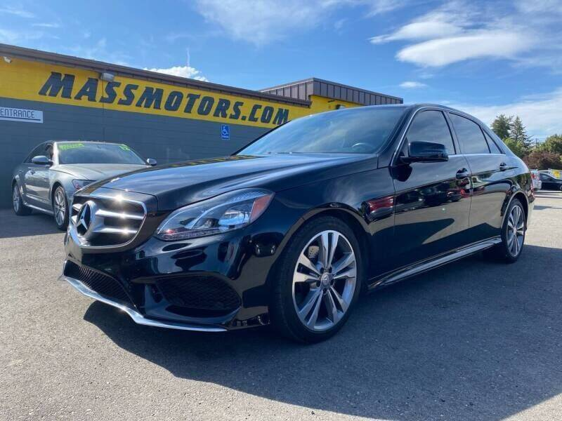 2016 Mercedes-Benz E-Class for sale at M.A.S.S. Motors - MASS MOTORS in Boise ID