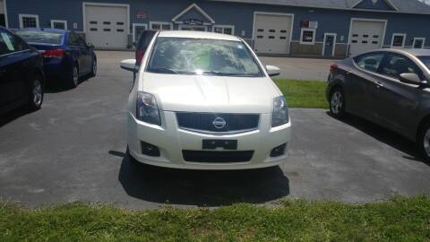 2010 Nissan Sentra for sale at Pool Auto Sales Inc in Spencerport NY