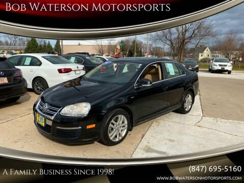 2007 Volkswagen Jetta for sale at Bob Waterson Motorsports in South Elgin IL