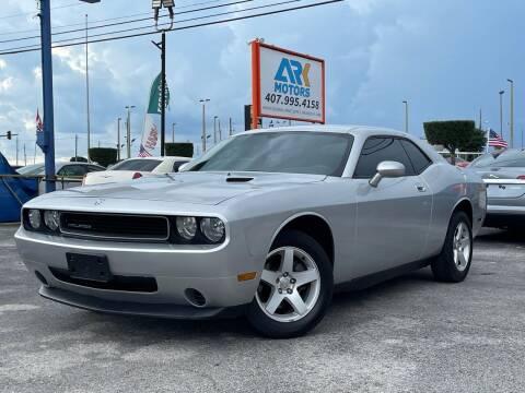 2010 Dodge Challenger for sale at Ark Motors LLC in Orlando FL