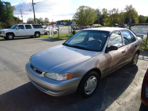 1999 Toyota Corolla for sale at Street Source Auto LLC in Hickory NC