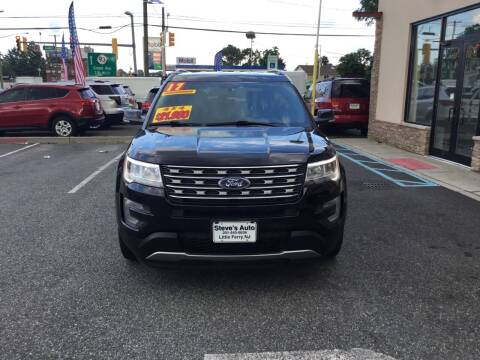 2017 Ford Explorer for sale at Steves Auto Sales in Little Ferry NJ
