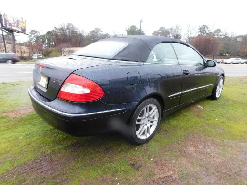 2009 Mercedes-Benz CLK CLK 350 2dr Convertible - Jonesboro GA