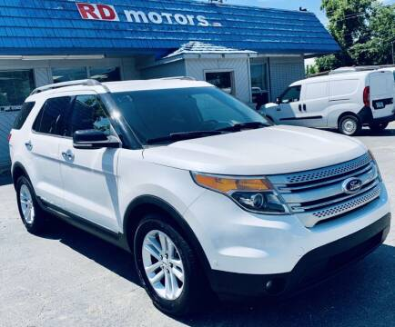 2012 Ford Explorer for sale at RD Motors, Inc in Charlotte NC