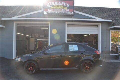 2012 Mitsubishi Lancer Sportback for sale at Quality Pre-Owned Automotive in Cuba MO
