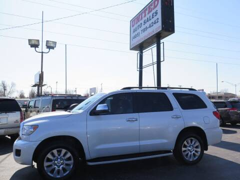 2011 Toyota Sequoia for sale at United Auto Sales in Oklahoma City OK