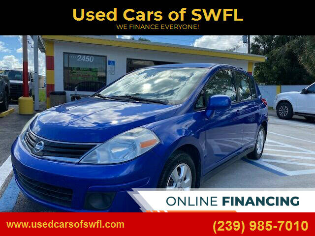 2012 Nissan Versa for sale at Used Cars of SWFL in Fort Myers FL