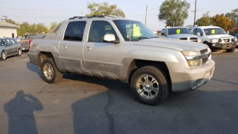 2004 Chevrolet Avalanche for sale at BRAMBILA MOTORS in Pocatello ID