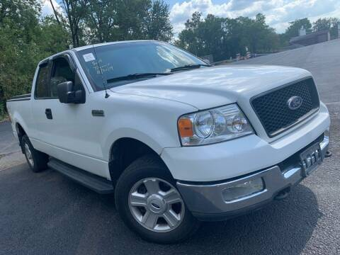2004 Ford F-150 for sale at Trocci's Auto Sales in West Pittsburg PA