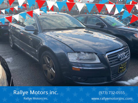 2006 Audi A8 L for sale at Rallye  Motors inc. in Newark NJ