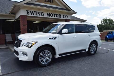 2016 Infiniti QX80 for sale at Ewing Motor Company in Buford GA