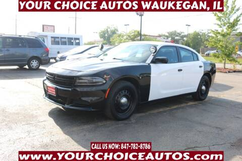 2016 Dodge Charger for sale at Your Choice Autos - Waukegan in Waukegan IL