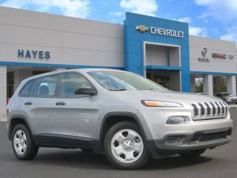 2014 Jeep Cherokee for sale at HAYES CHEVROLET Buick GMC Cadillac Inc in Alto GA