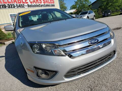 2010 Ford Fusion for sale at Reliable Cars Sales in Michigan City IN