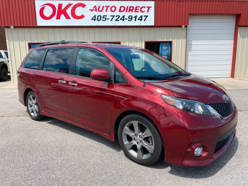 2013 Toyota Sienna for sale at OKC Auto Direct in Oklahoma City OK