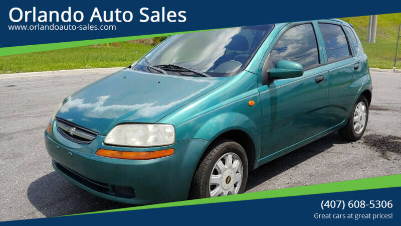 2004 Chevrolet Aveo for sale at Orlando Auto Sales Recycling in Orlando FL