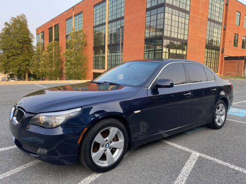2008 BMW 5 Series for sale at Auto Wholesalers Of Rockville in Rockville MD