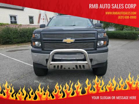 2014 Chevrolet Silverado 1500 for sale at RMB Auto Sales Corp in Copiague NY