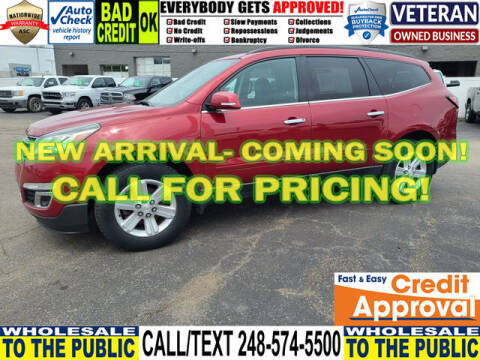 2014 Chevrolet Traverse for sale at North Oakland Motors in Waterford MI