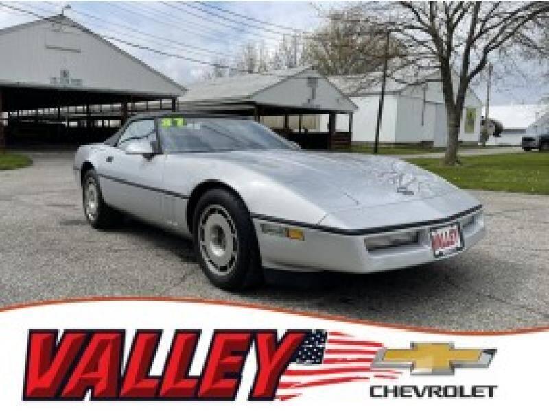 1987 Chevrolet Corvette for sale in Wellington, OH