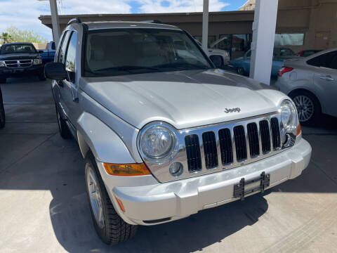 2006 Jeep Liberty for sale at Carzz Motor Sports in Fountain Hills AZ