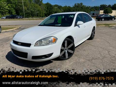2013 Chevrolet Impala for sale at All Star Auto Sales of Raleigh Inc. in Raleigh NC