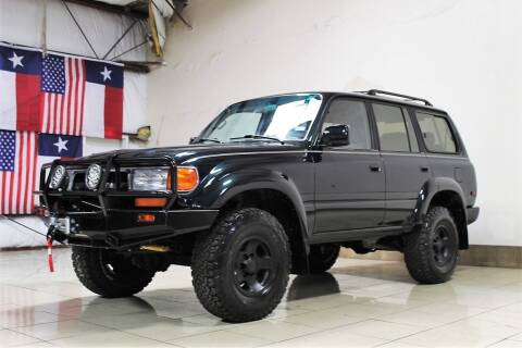 1993 Toyota Land Cruiser for sale at ROADSTERS AUTO in Houston TX
