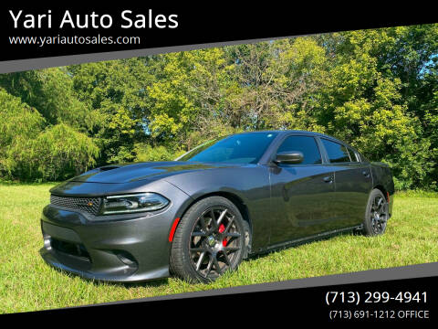 2016 Dodge Charger for sale at Yari Auto Sales in Houston TX