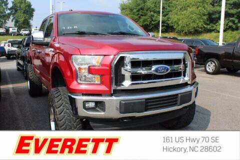 2017 Ford F-150 for sale at Everett Chevrolet Buick GMC in Hickory NC