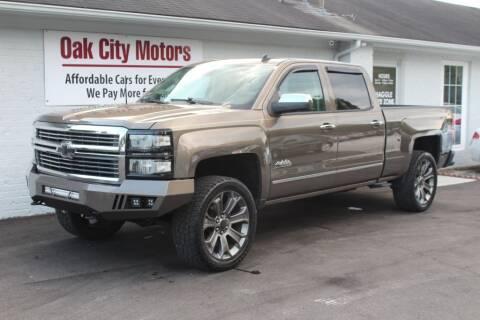 2014 Chevrolet Silverado 1500 for sale at Oak City Motors in Garner NC