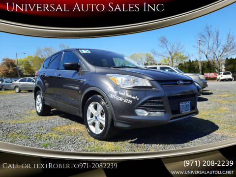 2015 Ford Escape for sale at Universal Auto Sales Inc in Salem OR