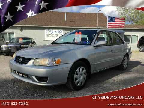 2002 Toyota Corolla for sale at CITYSIDE MOTORCARS LLC in Canfield OH
