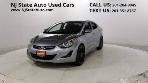 2016 Hyundai Elantra for sale at NJ State Auto Auction in Jersey City NJ