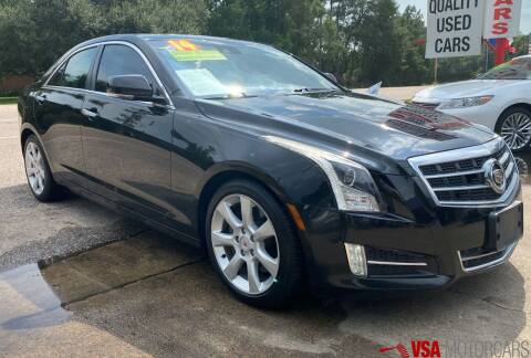 2014 Cadillac ATS for sale at VSA MotorCars in Cypress TX